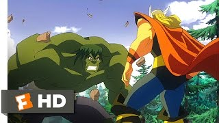 Nonton Hulk Vs   2009    Puny God Scene  3 5    Movieclips Film Subtitle Indonesia Streaming Movie Download