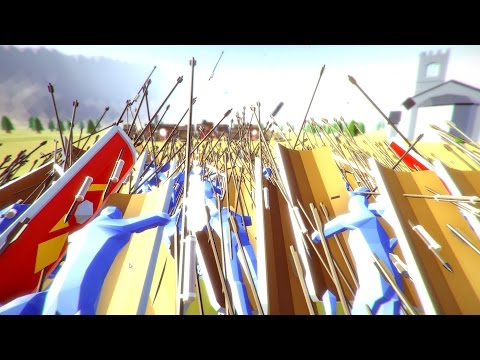 Hwacha Vs. Giant Armies! – Totally Accurate Battle Simulator Gameplay – TABS Game