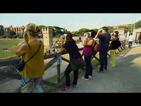 Ρώμη: Ο Μεγάλος Ιππόδρομος σε εικονική πραγματικότητα