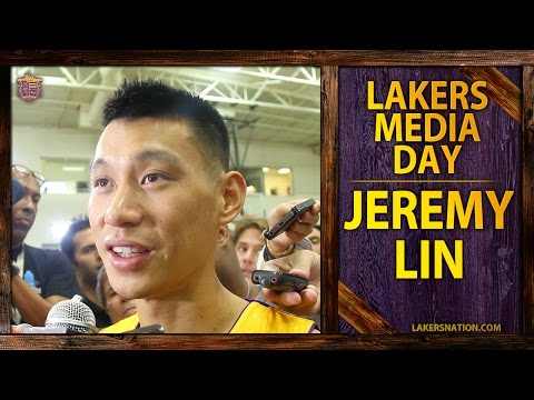 jeremy - Jeremy Lin at Los Angeles Lakers media day says he does not want to recreate Linsanity. Plus, talks Kobe Bryant and Steve Nash. Join the Largest Lakers Fan Site in the World http://LakersNation.c...