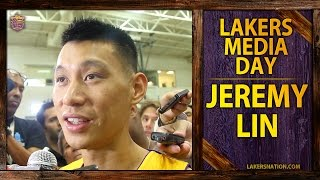Lakers Media Day 2014: Jeremy Lin, 'Anything But Linsanity'