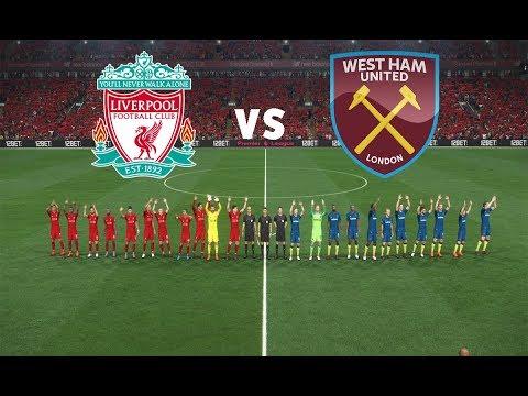 Liverpool vs West Ham United - England Premier League Gameweek 1 | Gameplay PC