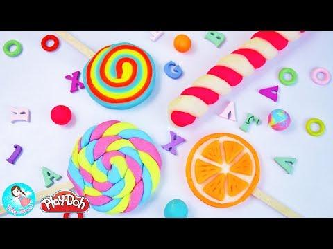 ของเล่นPlay Doh ปั้นแป้งโดว์อมยิ้ม แป้งโดว์ขนม สอนปั้นดินน้ำมัน วีดีโอสำหรับเด็ก