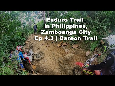 Enduro Trail in Philippines | Zamboanga City Ep 4.3 | Careon Trail
