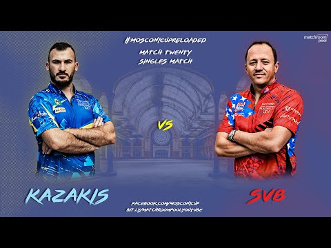 Mosconi Cup Reloaded: Alex Kazakis vs SvB