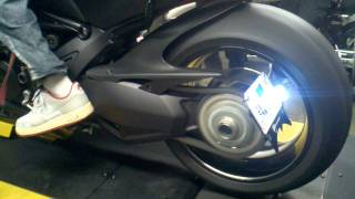 5. 2012 Ducati Diavel carbon dyno run