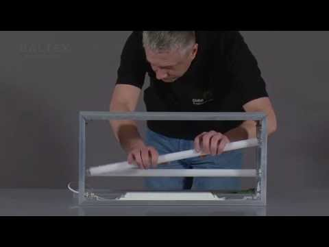 How to assemble a lightbox with acrylic (for outdoor advertising)