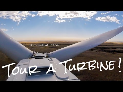 Tour A (Wind) Turbine – #RoundIsAShape  (U.S. Department of Energy) GoPro
