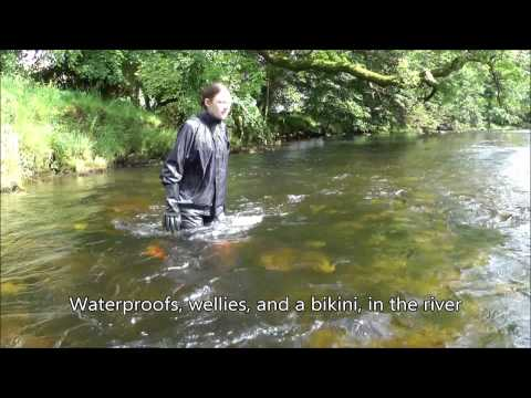 Rainweargirl - The summer of 2013 has been exeptional, with long sun-drenched days. The washout summer of 2012 was much more typical, and Chastity has created the perfect o...