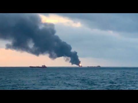 Russland: Viele Tote - zwei Frachter vor der Südküste ...