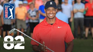 Tiger Woods wins 2018 TOUR Championship | Chasing 82 by PGA TOUR