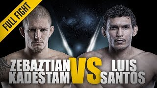 Video ONE: Full Fight   Zebaztian Kadestam vs. Luis Santos   Shocking Upset   May 2017 MP3, 3GP, MP4, WEBM, AVI, FLV November 2018