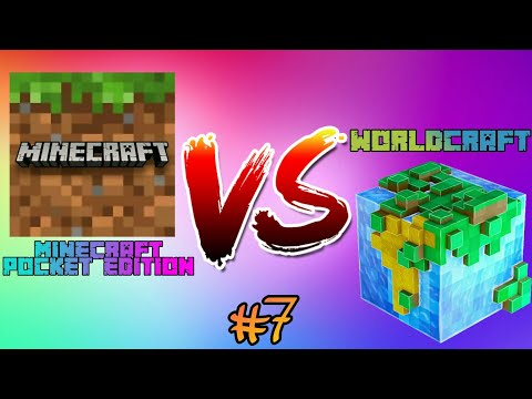 Minecraft PE vs Worldcraft - Part 7