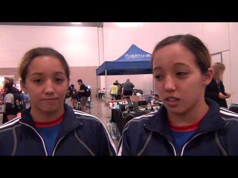 Marina Doi and Regina Doi, Body Bar UWW Junior 44 kg finalists
