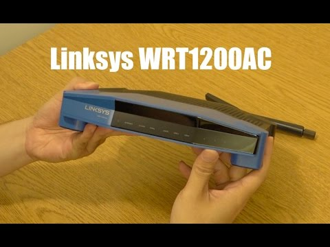 Linksys WRT AC1200 Dual-Band Wi-Fi Wireless Router Unboxing