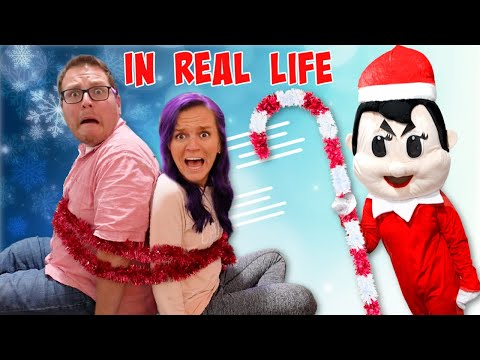 Elf On The Shelf In Real Life - ProHacker Traps NOOB Family in Escape Room