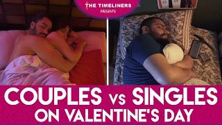 Video Couples vs Singles On Valentine's Day | The Timeliners MP3, 3GP, MP4, WEBM, AVI, FLV November 2017