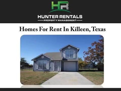 Homes for rent in killeen texas watch the video for Home builders in killeen tx