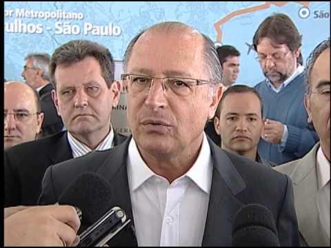 Alckmin inaugura Terminal da EMTU e anuncia investimentos em Guarulhos