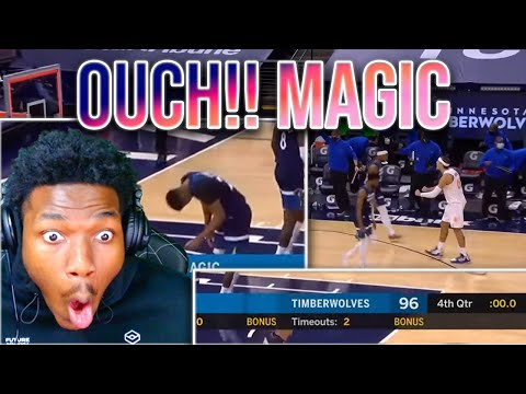 MAGIC VS WOLVES   FULL GAME HIGHLIGHTS   AN OFFICIALDRE REACTION