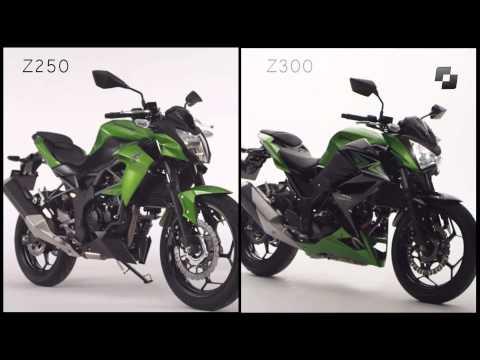 Vídeos Kawasaki Z250 SL