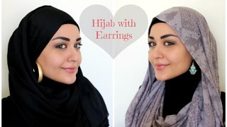 Download Lagu Hijab with Earrings Tutorial - Hijab avec Boucles d'oreilles Mp3
