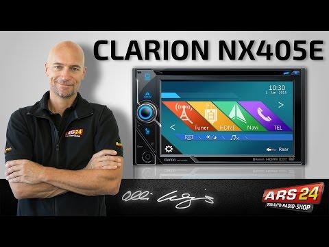 Clarion NX 405 E -ANLEITUNG- Multimedia Autoradio mit 6,5
