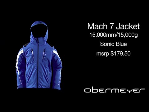 Obermeyer teen boys Mach7 jacket features