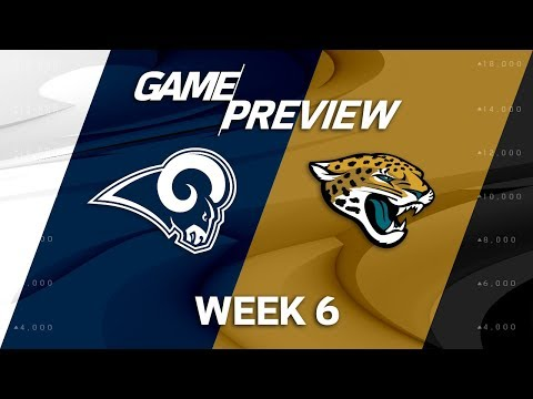 Video: Los Angeles Rams vs. Jacksonville Jaguars | Week 6 Game Preview | Move the Sticks