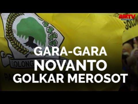 Gara-Gara Novanto, Golkar Merosot