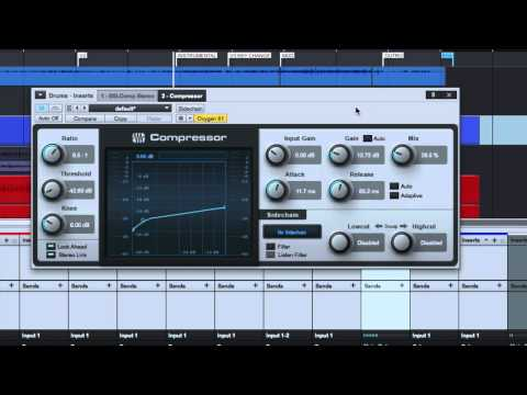 How to Use the Mix Knob on a Compressor