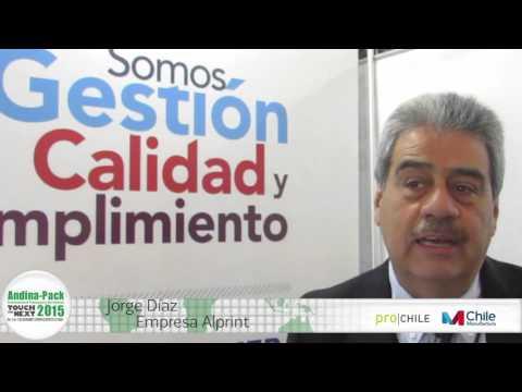 Testimonial de Jorge Diaz de Alprint