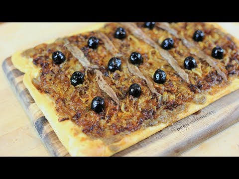 How To Make A Pissaladière  - South Of France Recipe