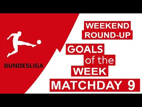Bundesliga Goals & Highlights Matchday 9 2018/19