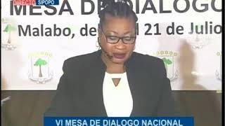 VI Mesa de Diálogo Nacional, Sesión I, día 21 de julio de 2018 (Completo)