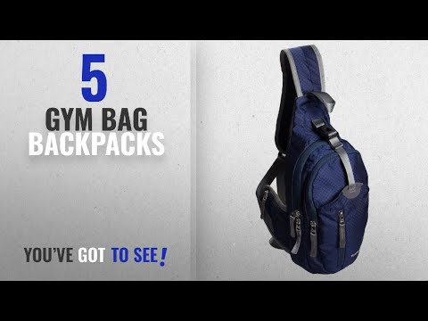 Top 10 Gym Bag Backpacks [2018 Best Sellers]: WASING Military Sport Pack Shoulder Sling Backpack Men