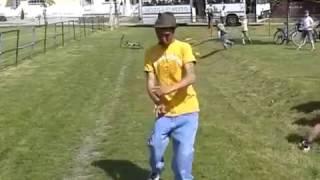 Mozgásjavító tánc falunapon