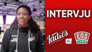 Zakiya Saunders inför Visby Ladies – IK Eos