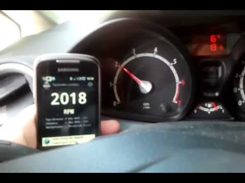 Video of Acoustic Tachometer (RPM)