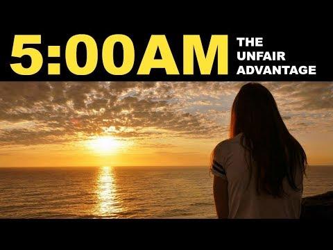 Dlaczego  warto wstawać o 5 rano !