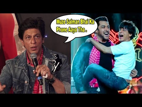 Shahrukh Khan Talks About Special Cameo Of Salman Khan In Zero Movie