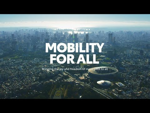 Mobility, solutions, Toyota, Olympic Games, Tokyo 2020