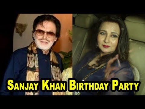 Poonam Dhillon At Sanjay Khan Birthday Party