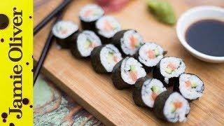 Sajian Lezat Sushi Salmon untuk Menu Akhir Pekan