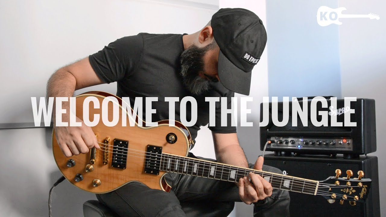 Guns N' Roses – Welcome To The Jungle – Electric Guitar Cover by Kfir Ochaion