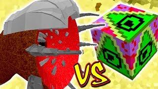 MINHOCA MONSTRO GIGANTE VS. LUCKY BLOCK DELTA (MINECRAFT LUCKY BLOCK CHALLENGE SANDWORM)
