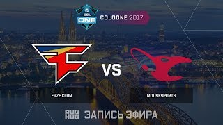 FaZe Clan vs Mousesports - ESL One Cologne 2017 - de_nuke [yXo, ceh9]