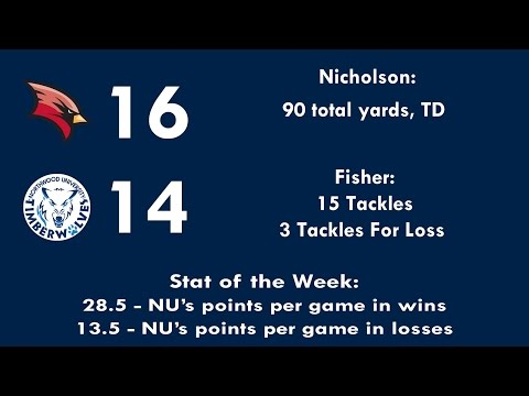 Northwood/Saginaw Valley State 2014 Football Highlights