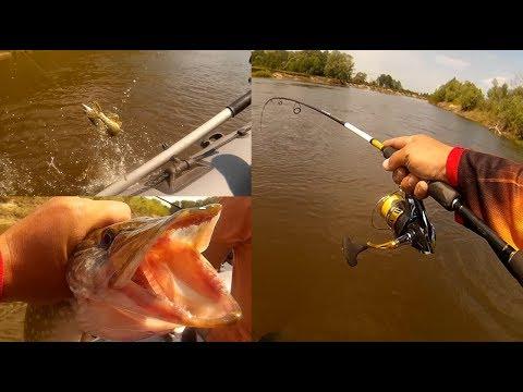 уроки ловли рыбы на простой спиннинг
