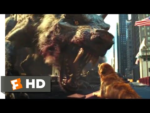Rampage (2018) - Monsters vs. the Military Scene (5/10) | Movieclips